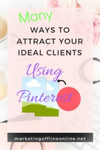 Attract Ideal Clients with Pinterest