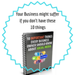 10 important things every business owner should know about  social media