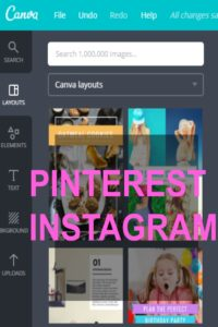 Pinterest Instagram