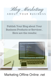 blog marketing about your business