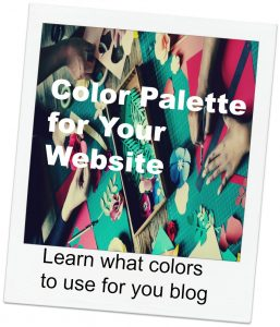 Color Palette for your Blog