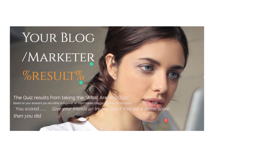 What kind of Blogger are you Quiz