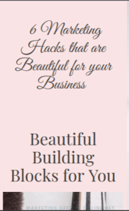 Hacks for your beautiful biz